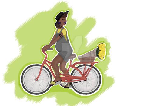 Biking (Preg series 3)