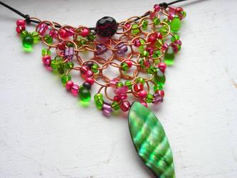 Springtime Necklace by Moppy