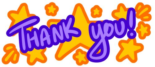 Thank You banner by Moppy