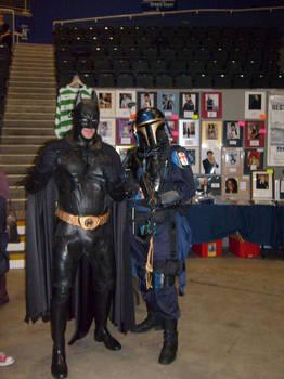 Mandalorian and Batman