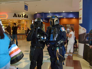 Mandalorian and Tie Pilot