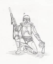 Mandalorian Sniper