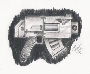Bolt pistol by cocojedi