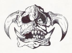 Ork Skull