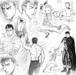 Berserk sketches