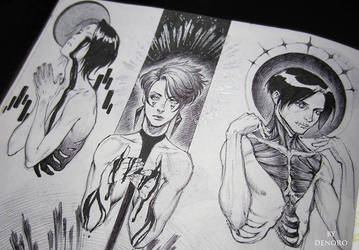 Some sketches by Denoro