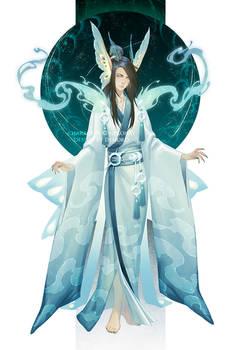 Commission: moth spirit