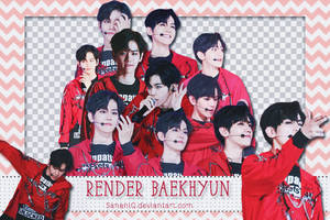 [ PACK RENDER#9 ] 12 PNG BAEKHYUN(updated)