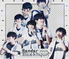 [ PACK RENDER ] 12 RENDERS BAEKHYUN - EXO(updated) by SananiG
