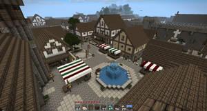 Entrance Plaza by oddworld90