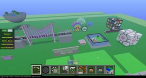 Random Minecraft Builds