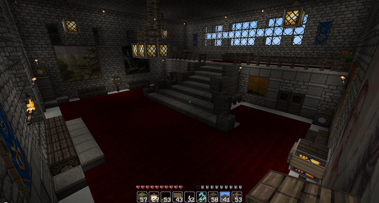 Castle Entrance Hall 2 by oddworld90 on deviantART