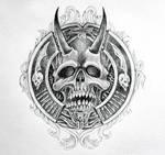 Skull Ornametallic 4