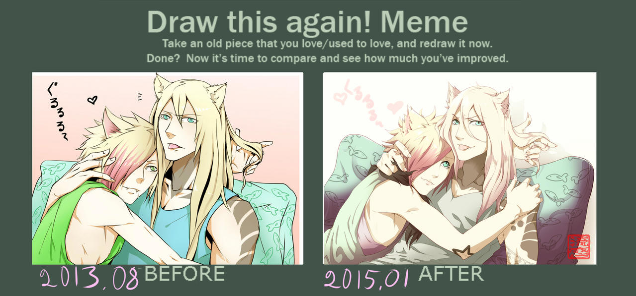draw this again meme-busted- by mr-rukan-san