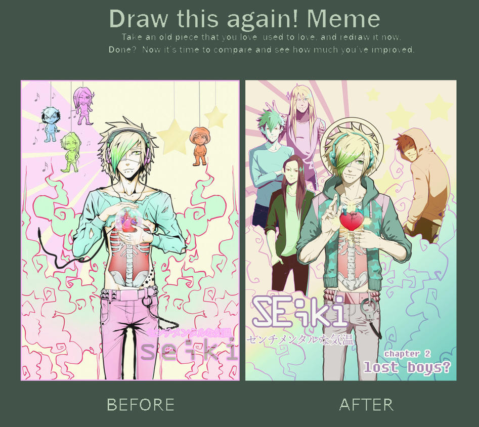 draw this again meme -chapter 2 poster- by mr-rukan-san