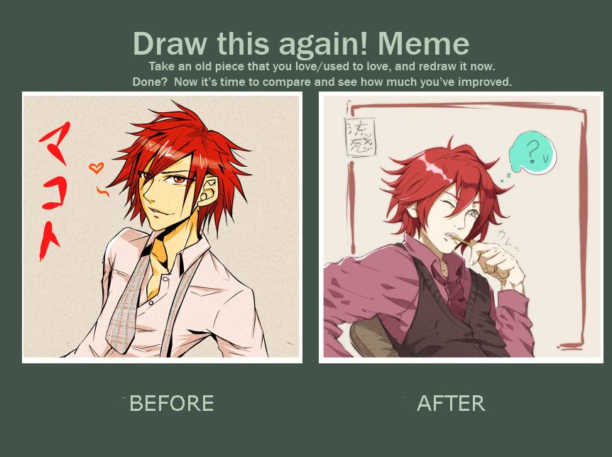 draw this again meme -makoto- by mr-rukan-san