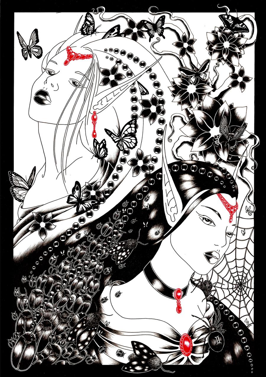 Zodiak No 9 Twins by Ethelie