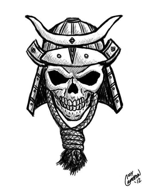 Samurai Embroidery Designs
