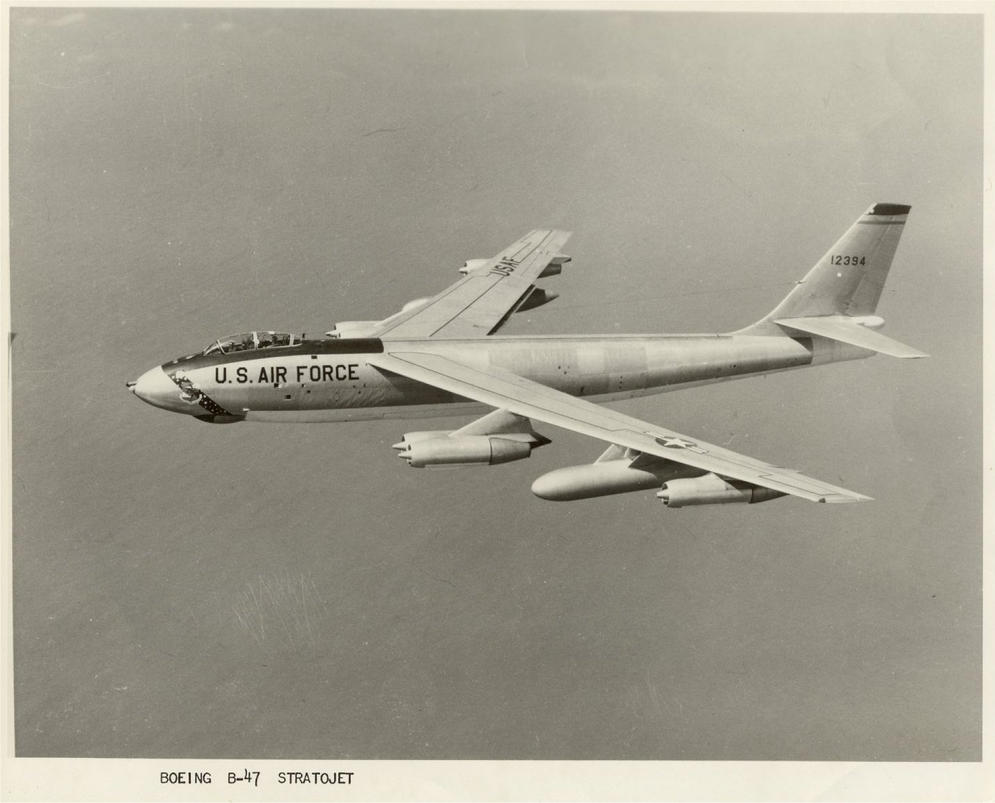Boeing B-47 Stratojet by Ovid2345