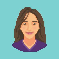 Avatar Pixelart Sofia by sofiaiervolino