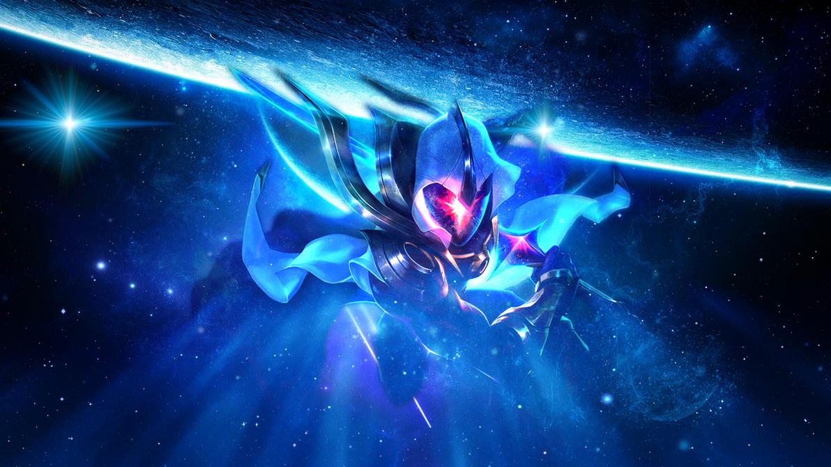 Cosmic Blade Master Yi Wallpaper By Nestroix