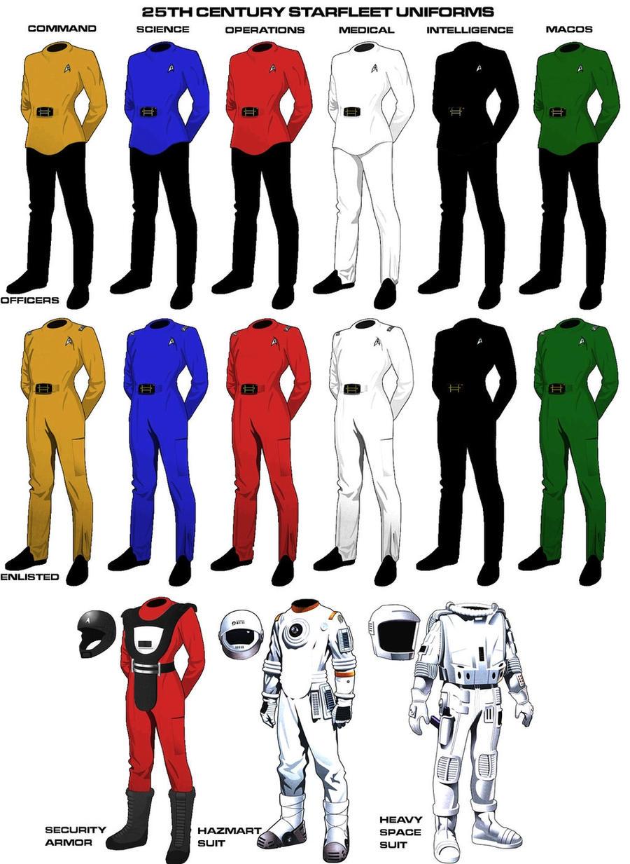 Starfleet Uniform Color 21