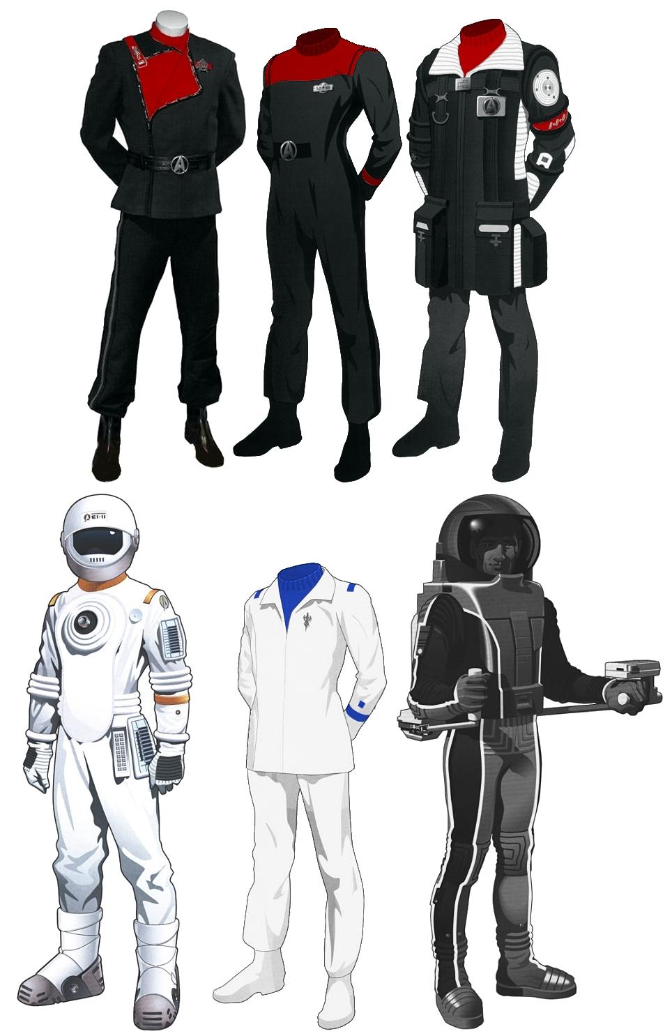 New Starfleet Uniform 87