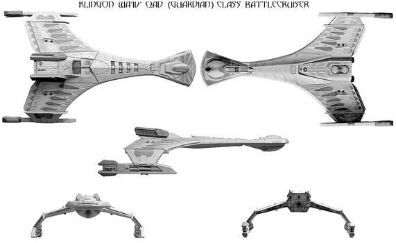 24th century Klingon battlecruiser
