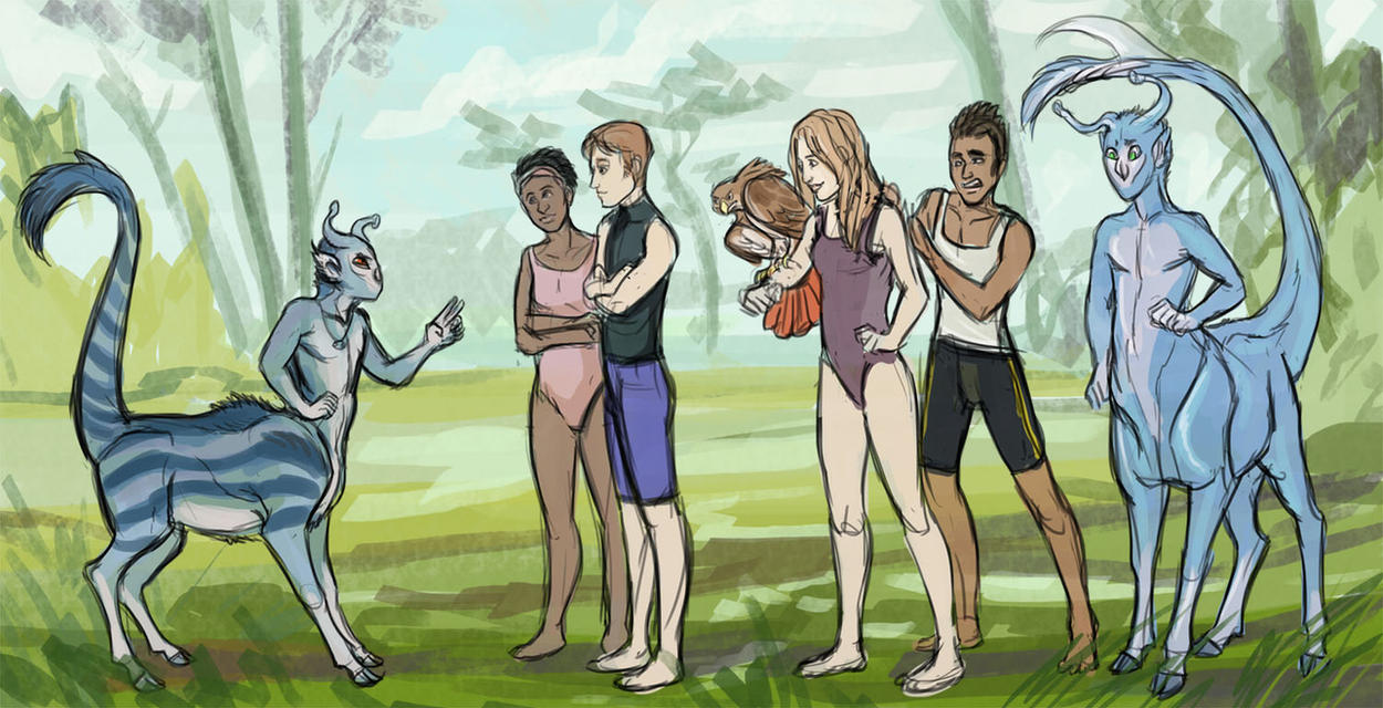 Andalite Karkat vs. the Animorphs by saeto15