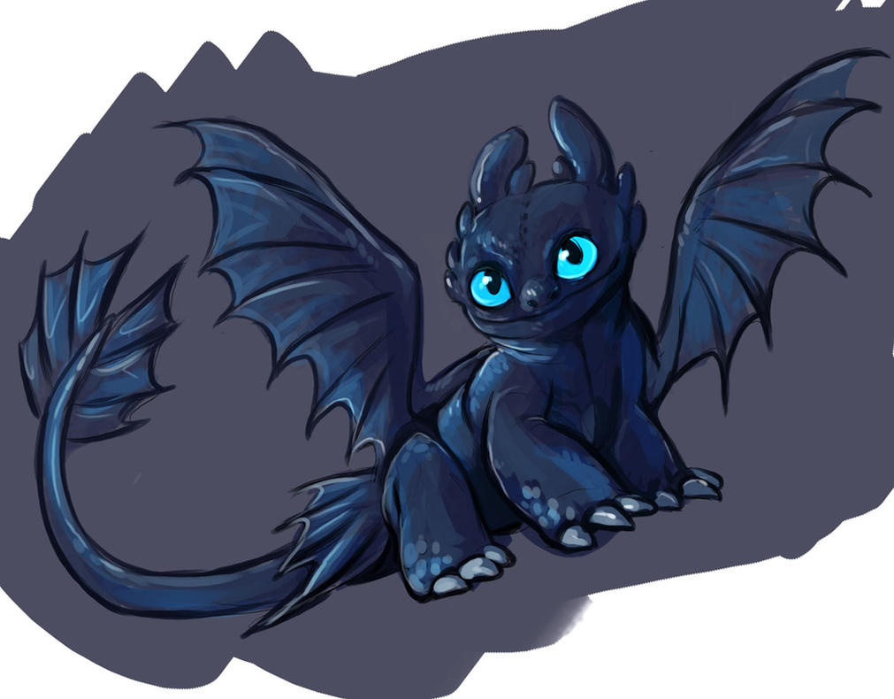 baby toothless by saeto15 on DeviantArt