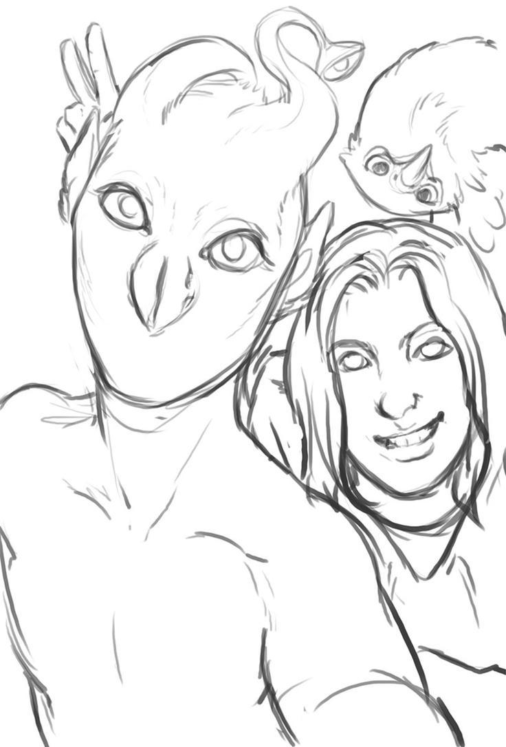 Animorphs selfie by saeto15