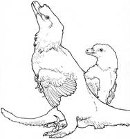 Bluejay Raptor by saeto15 on DeviantArt
