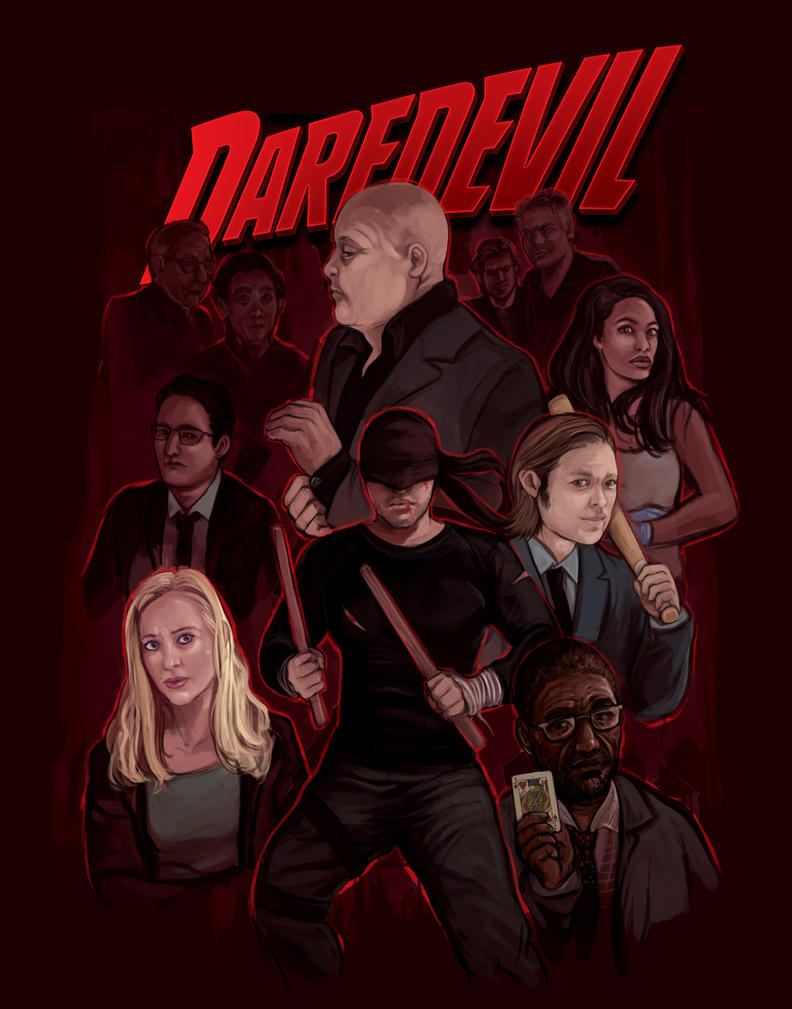Daredevil by saeto15