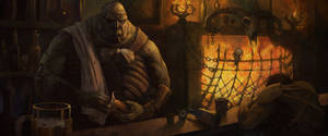 Barman 1 by Rahmatozz
