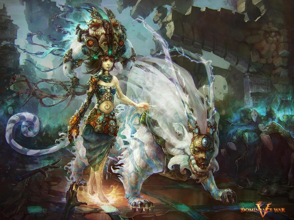 Goddess of Rebirth by Rahmatozz