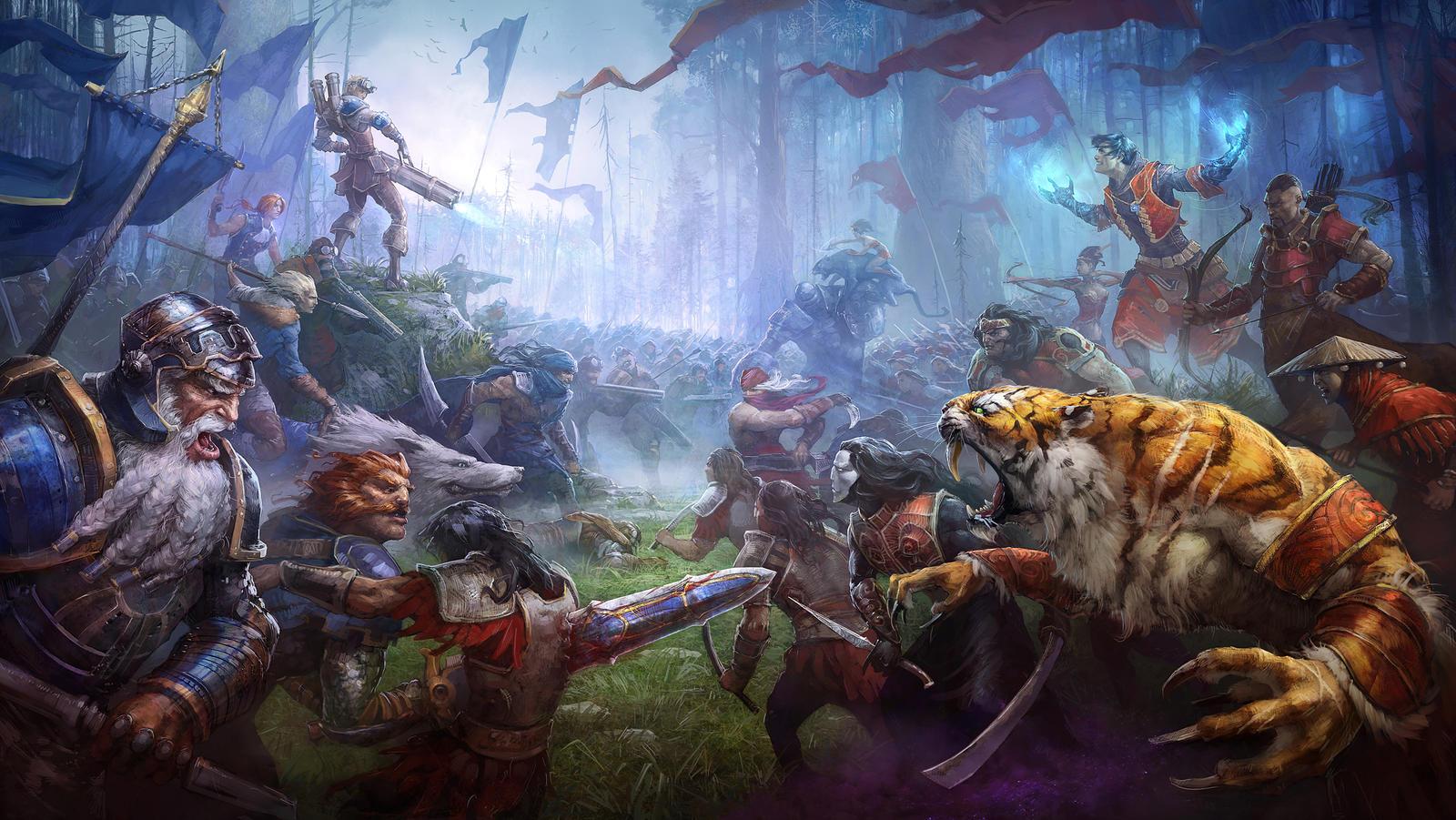 Battle by Rahmatozz