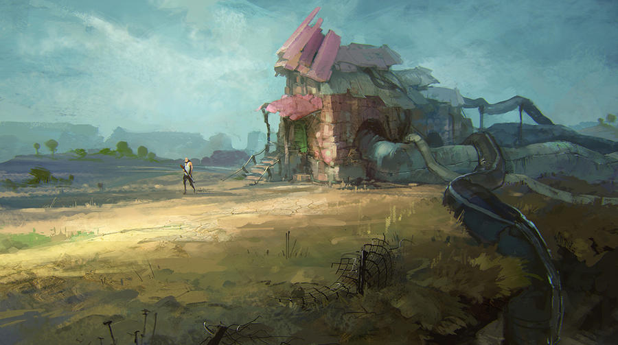 hut by Rahmatozz