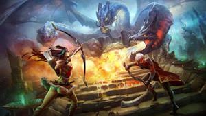 Dragonslayers by Rahmatozz