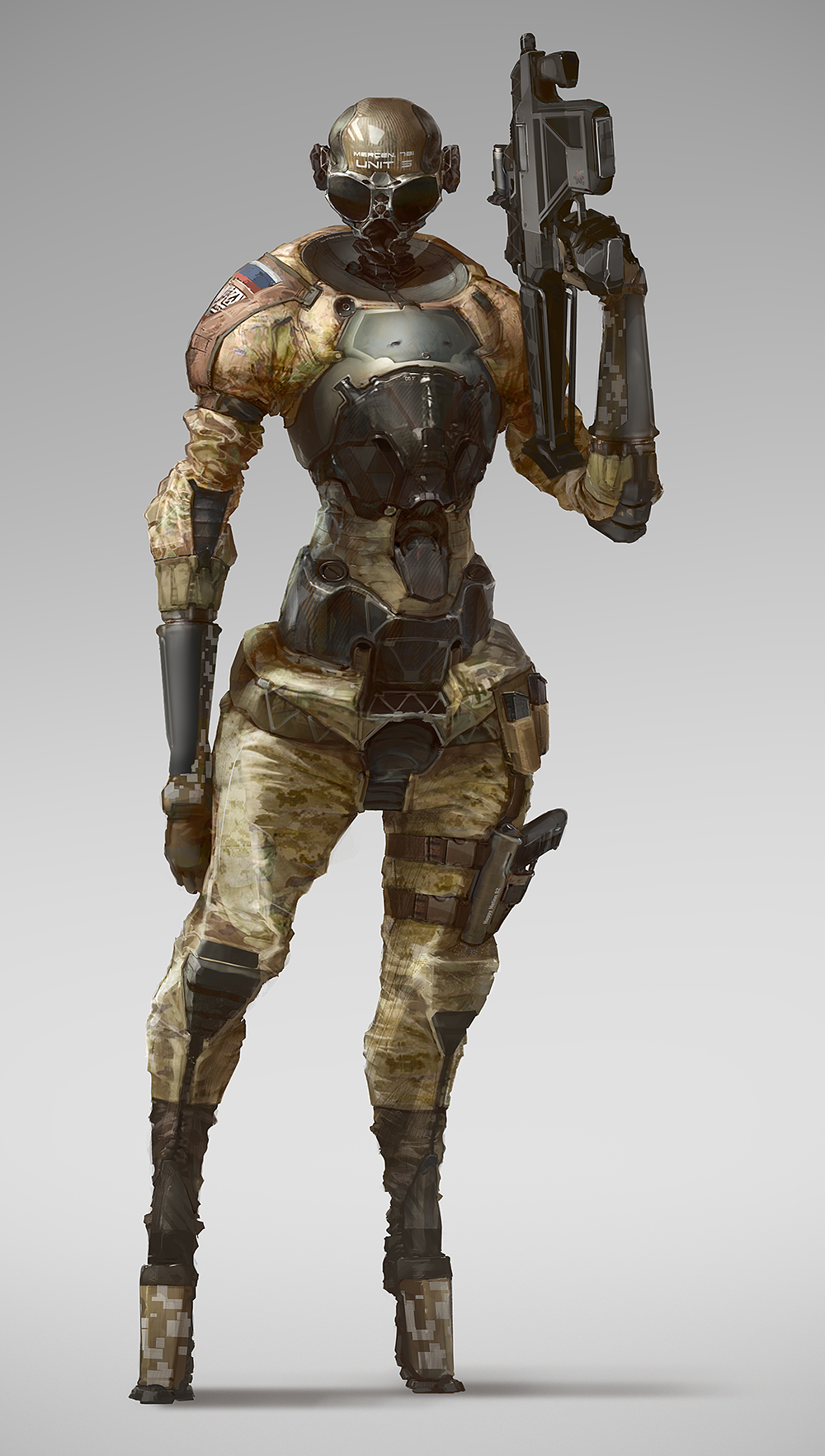 mercenary 78i by Rahmatozz