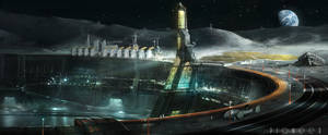 Experimental Research Moon Complex by Rahmatozz