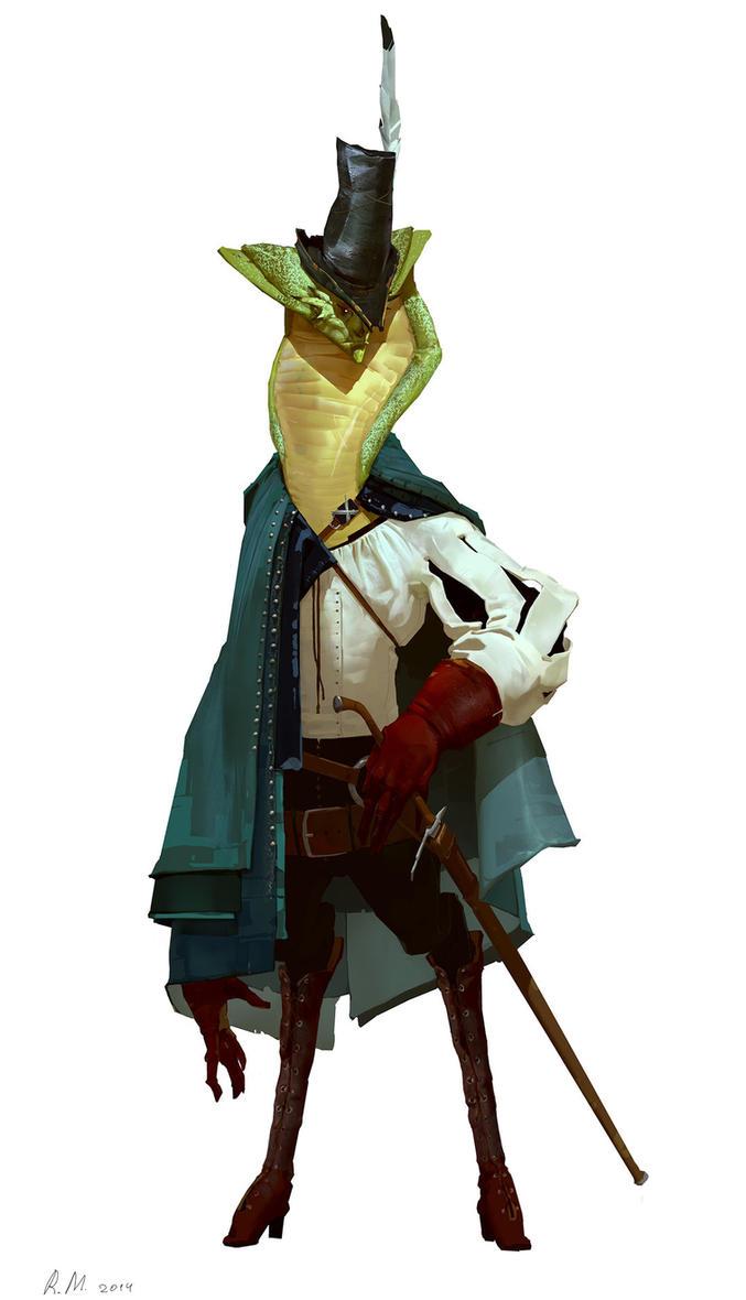 Fencer by Rahmatozz