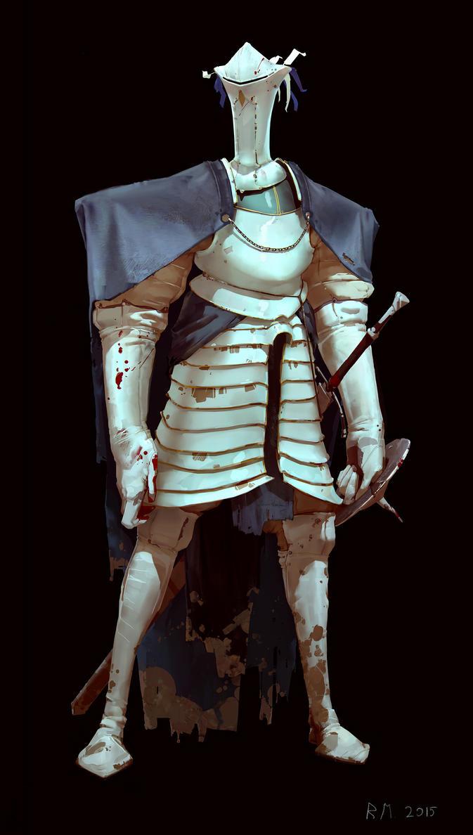 White knight by Rahmatozz
