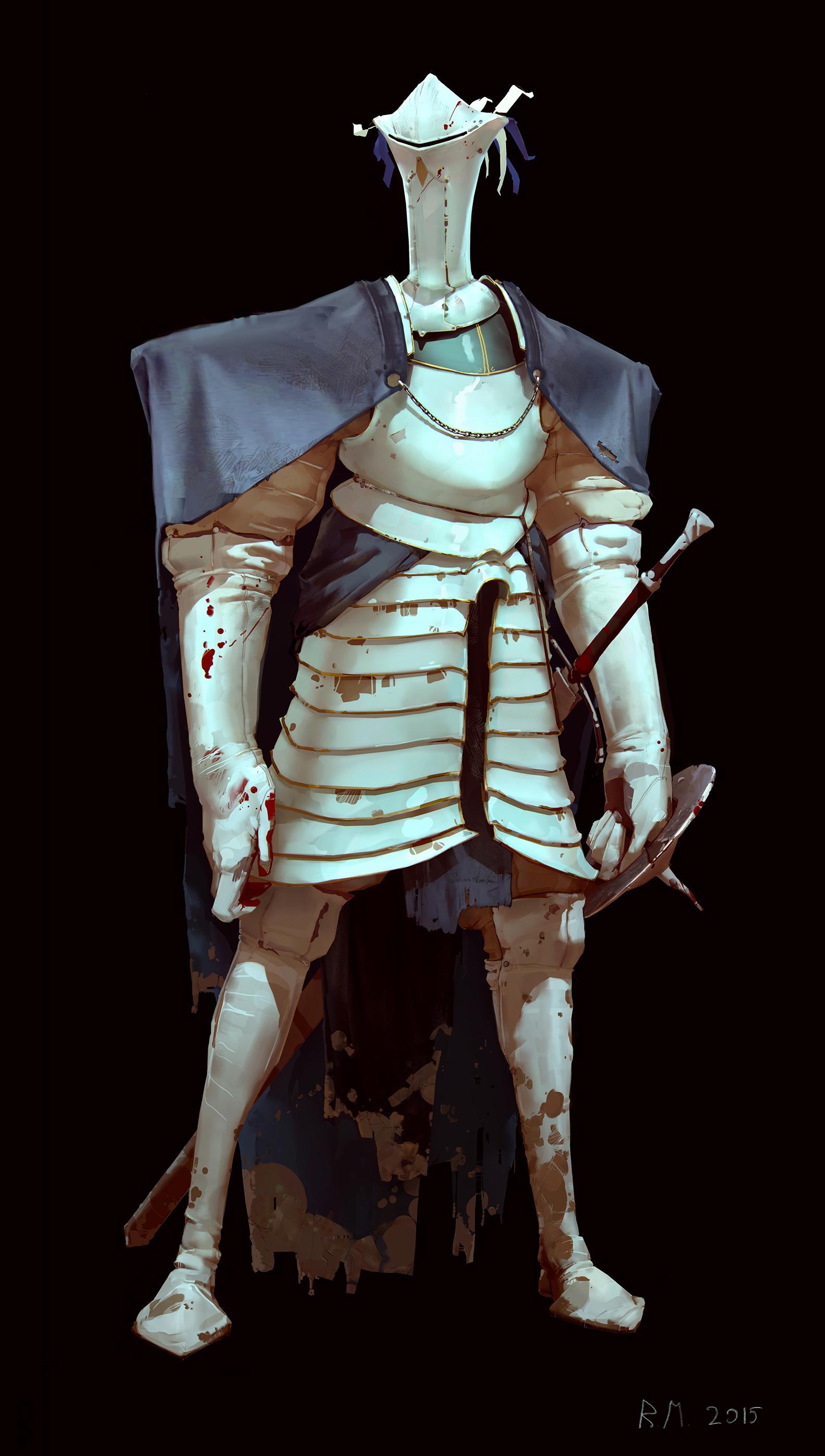 White knight by Rahmatozz on DeviantArt