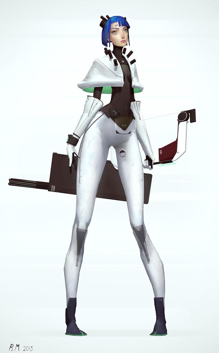 Archeress by Rahmatozz