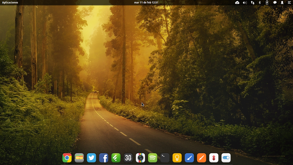 Elementary OS by miicho