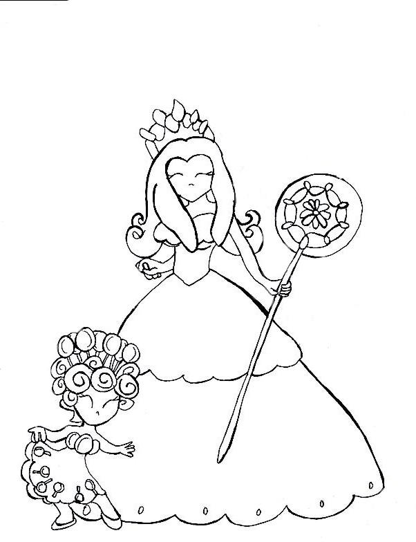 Gloppy candyland coloring pages