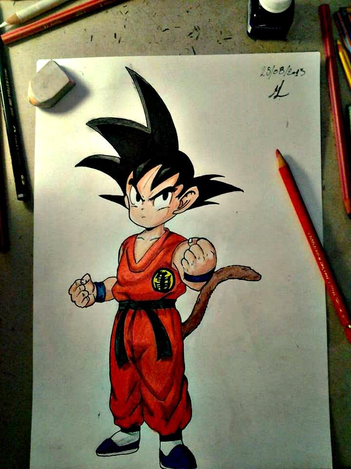 kid Goku 2. by ManolisLiviakis