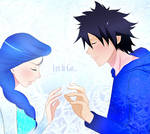 Fairy Tail Crossover. Gruvia (Jack and Elsa)