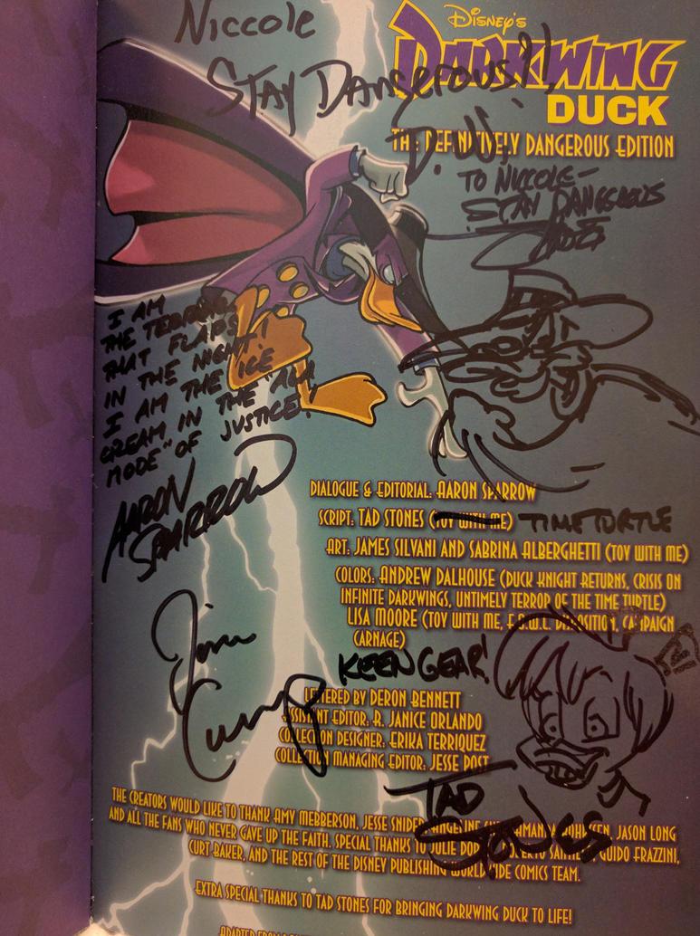 DWD Autographs by ilvjeddy