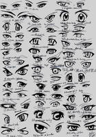 39 male anime eyes by RUN-StreetArt